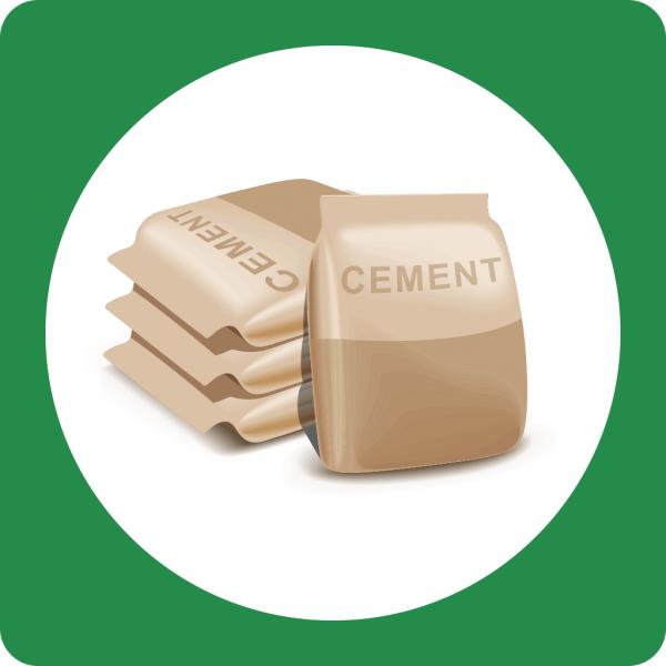 SPENDE - Zement für ein Hilfsprojekt