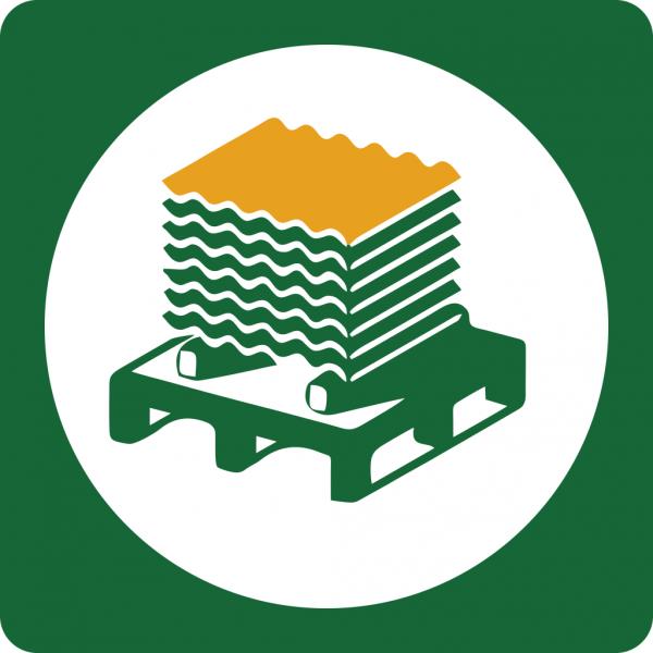 SPENDE - Wellblechplatte für ein Hilfsprojekt