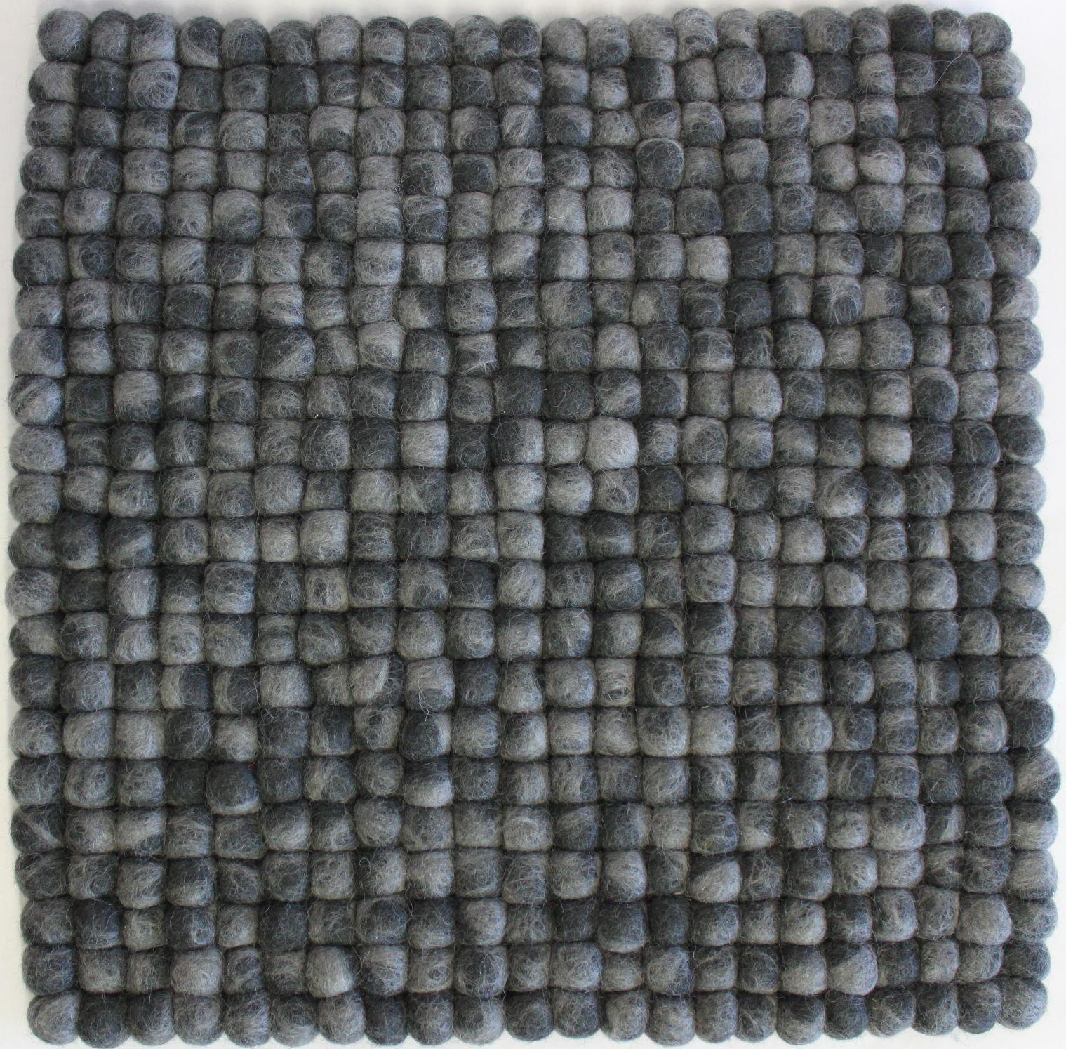 stuhlkissen aus filz 40 x 40 cm dunkel mittelgrau meliert stuhlkissen aus filz produkte. Black Bedroom Furniture Sets. Home Design Ideas