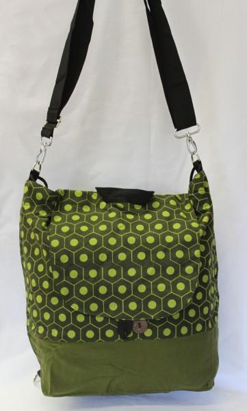 2 in 1 Tasche und Rucksack