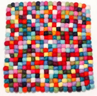 stuhlkissen aus filz 40 x 40 cm multicolor stuhlkissen aus filz produkte aus filz. Black Bedroom Furniture Sets. Home Design Ideas